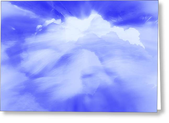 Clouds Of Change Greeting Card