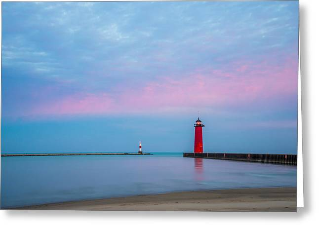 Greeting Card featuring the photograph Clouds Of Cotton Candy by Steven Santamour