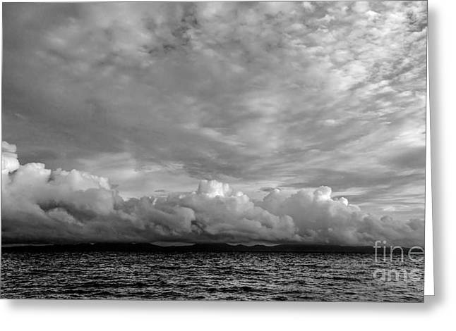 Clouds Over Alabat Island Greeting Card