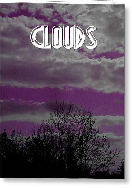 Clouds Over Earth Greeting Card by Pepita Selles