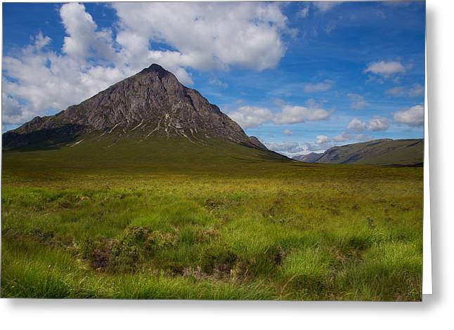 Clouds Over Etive Mor Greeting Card by Niall McWilliam