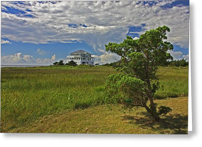 Clouds Over Hatteras Greeting Card