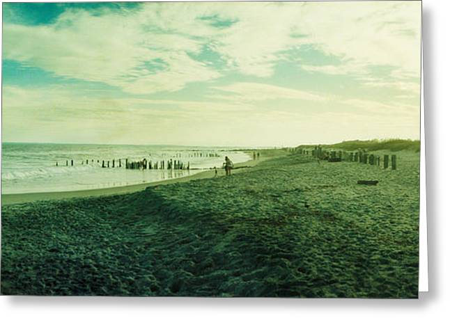 Clouds Over The Atlantic Ocean, Fort Greeting Card by Panoramic Images