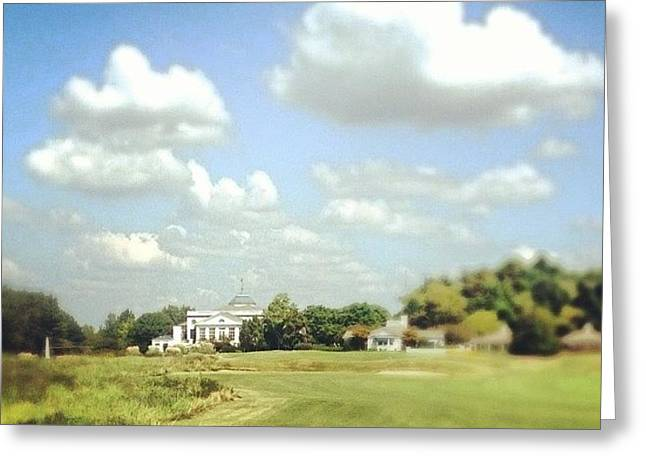 Clouds Over The Club House #iphone5 Greeting Card