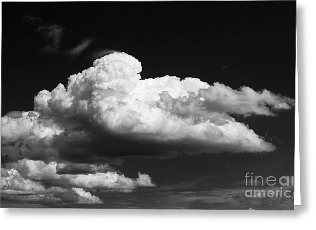 Clouds Over The Palouse Greeting Card