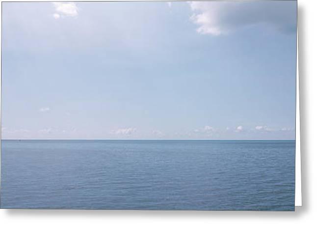 Clouds Over The Sea, Atlantic Ocean Greeting Card