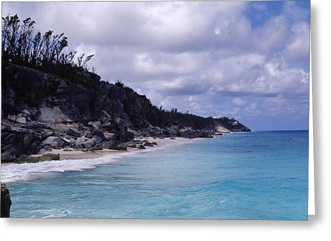 Clouds Over The Sea, Bermuda Greeting Card