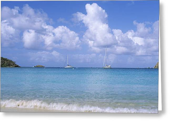 Clouds Over The Sea, Salt Pond Bay Greeting Card
