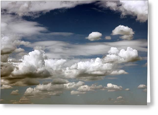 Clouds Greeting Card by Rakesh Iyer