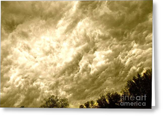 Clouds Rule Greeting Card
