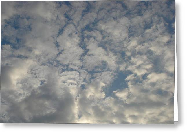 Clouds Two Greeting Card