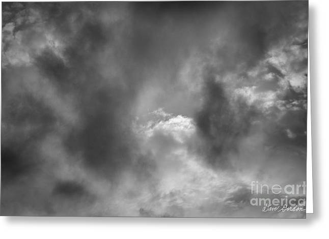 Cloudscape No. 6 Greeting Card by David Gordon