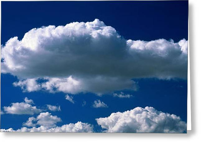Cloudscape Greeting Card by Panoramic Images