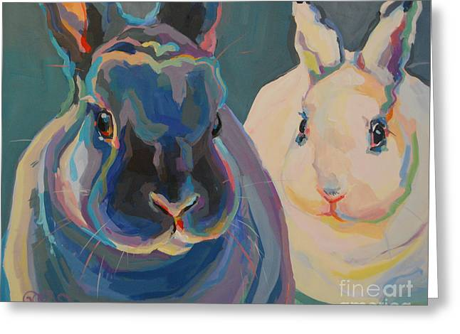 Clover And Lily Greeting Card by Kimberly Santini