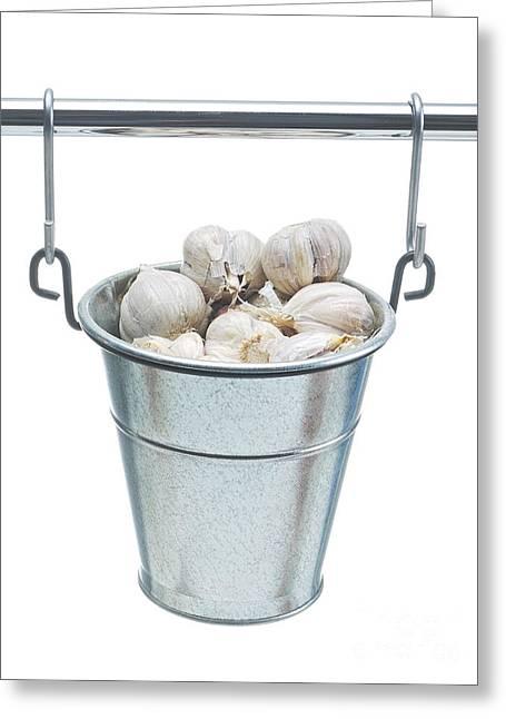 Cloves Of Garlic Greeting Card