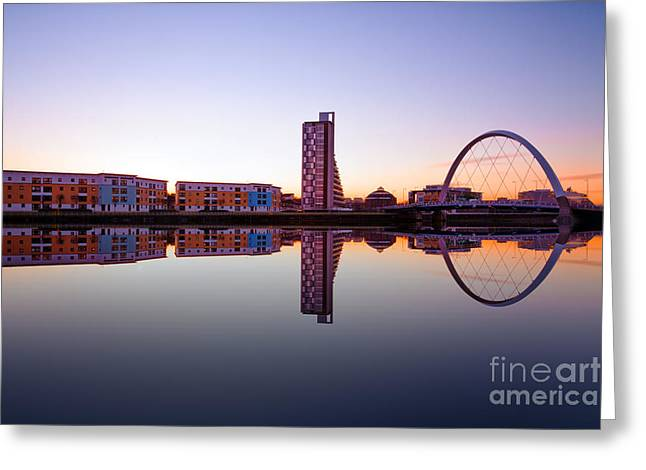 Clyde Arc  Greeting Card by John Farnan