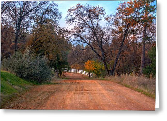 Clydesdale Road Too Greeting Card