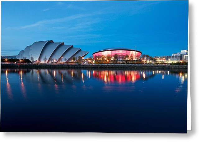 Clydeside Reflected Greeting Card