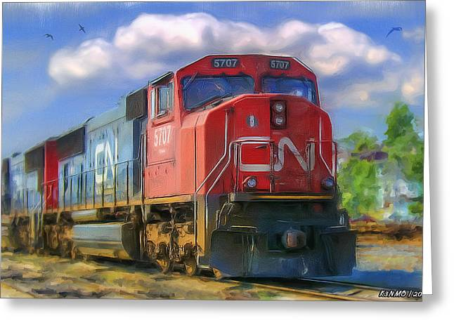 Cn 5707 Greeting Card