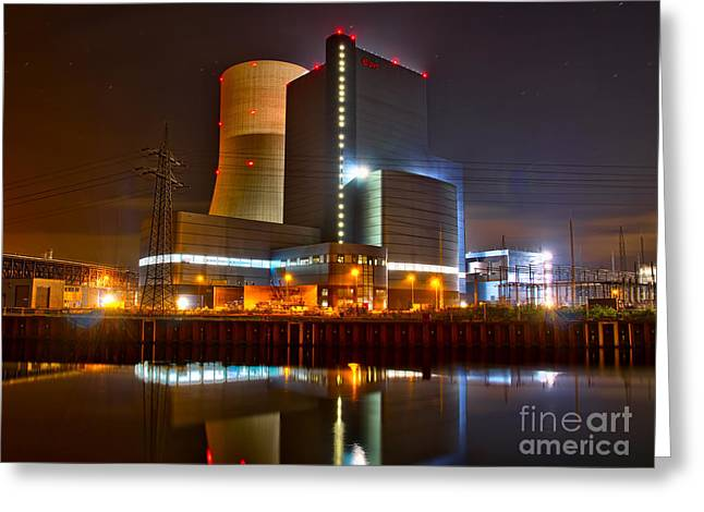 Coal Fired Powerhouse Greeting Card