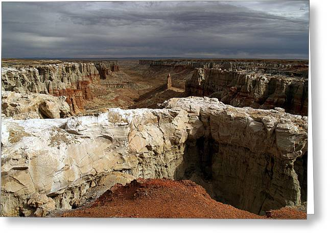Coal Mine Mesa 08 Greeting Card