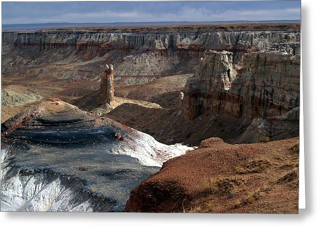 Coal Mine Mesa 09 Greeting Card