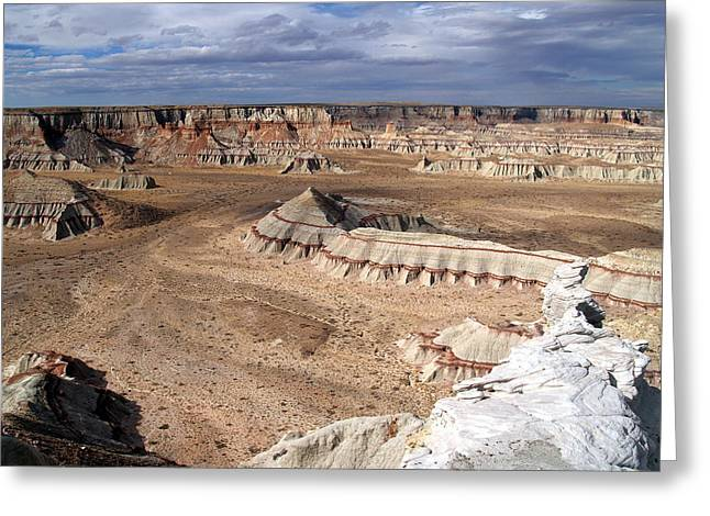 Coal Mine Mesa 11 Greeting Card