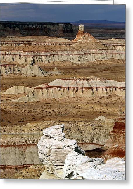 Coal Mine Mesa 19 Greeting Card