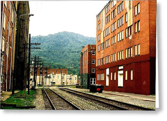 Greeting Card featuring the photograph Coal Town Highway by Carlee Ojeda