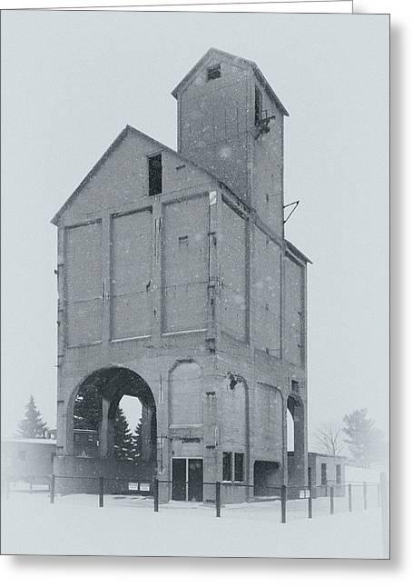 Coaling Tower Greeting Card