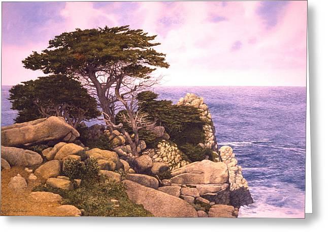 Coast At Lobos Greeting Card