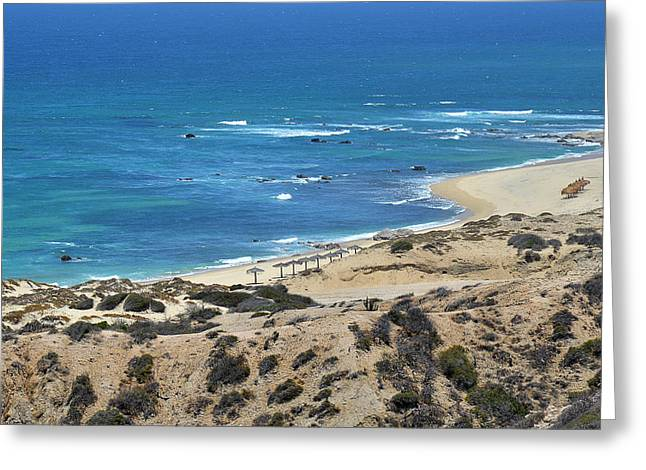 Coast Baja California Greeting Card by Christine Till