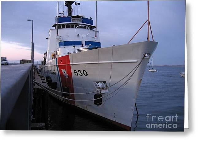 Coast Guard Cutter Alert Greeting Card