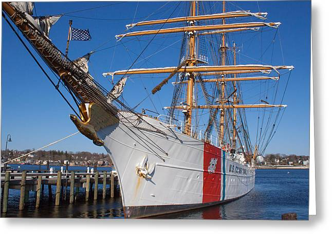 Coast Guard Cutter Eagle Greeting Card