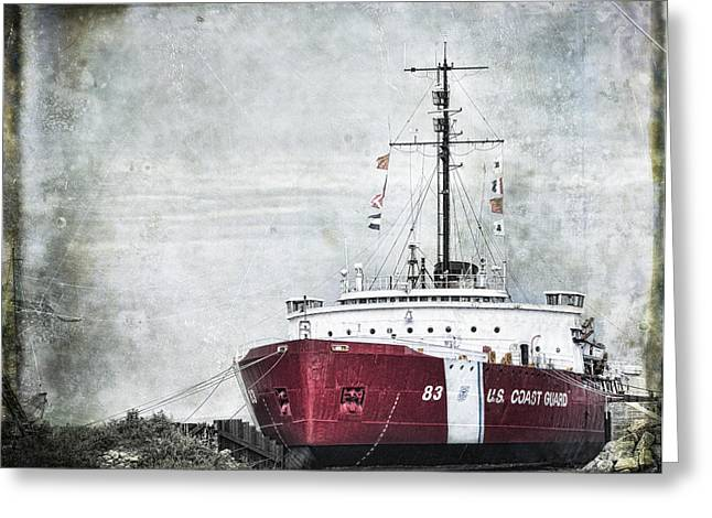 Coast Guard Greeting Card by Evie Carrier
