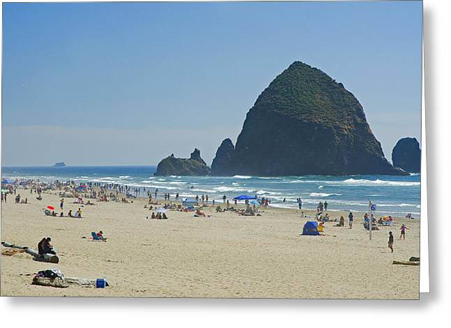 Coastal Attraction Greeting Card by Nick  Boren