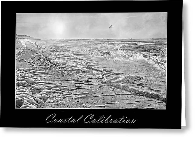 Coastal Calibration Greeting Card