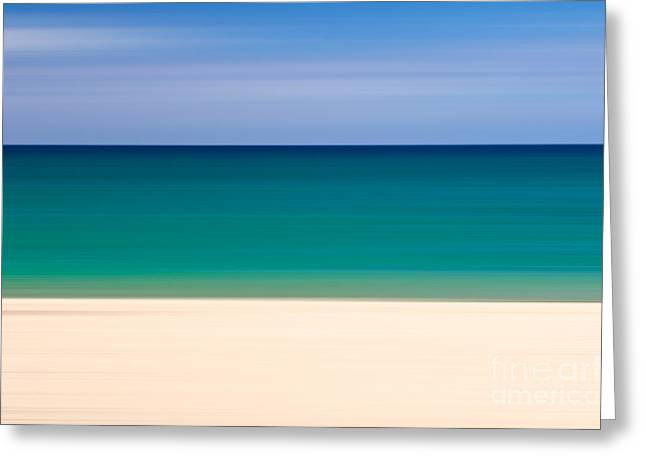 Coastal Horizon 8 Greeting Card by Delphimages Photo Creations