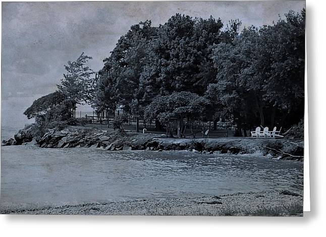 Coastal Living On Lake Erie Greeting Card by Dan Sproul
