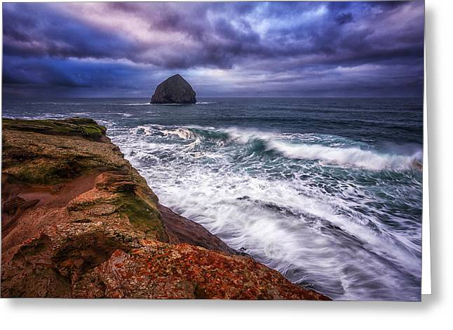 Coastal Madness Greeting Card by Darren  White