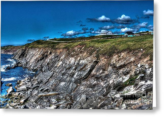 Greeting Card featuring the photograph Coastal Nova Scotia by Joe  Ng