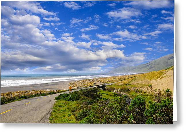 Coastal Road Greeting Card
