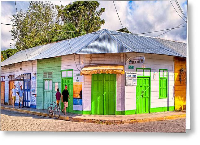 Coastal Vibe - San Juan Del Sur Greeting Card by Mark E Tisdale