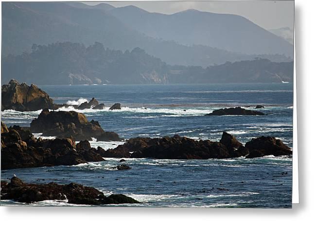 Coastal View - Big Sur II Greeting Card