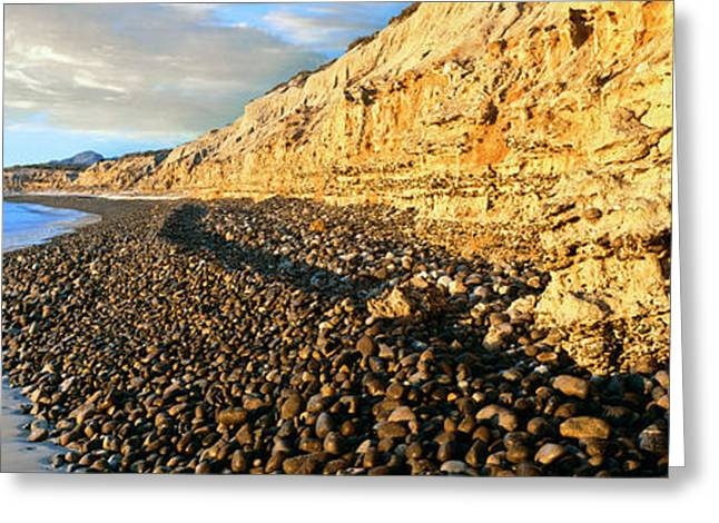 Coastline, Cabo Pulmo National Marine Greeting Card by Panoramic Images