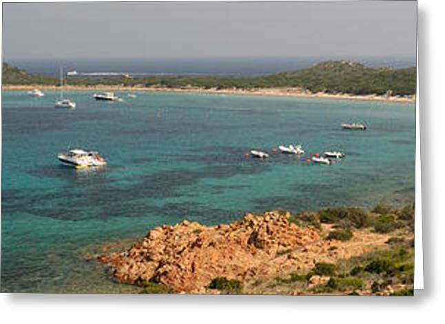 Coastline, Capo Coda Cavallo, Province Greeting Card by Panoramic Images
