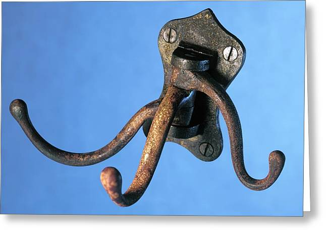 Coat Hanger From The Titanic Greeting Card