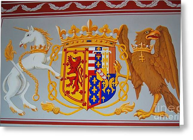 Coat Of Arms Of James II Greeting Card