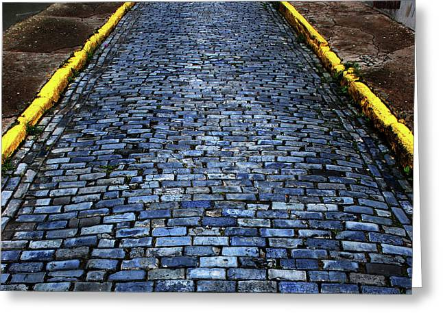 Cobblestones From Ship's Ballast Or Greeting Card