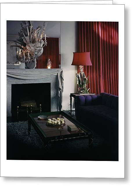 Cobina Wright's Living Room Greeting Card